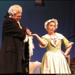 Cosi fan Tutte, DonAlfonso (2008), with Elizabeth Russ (Despina)