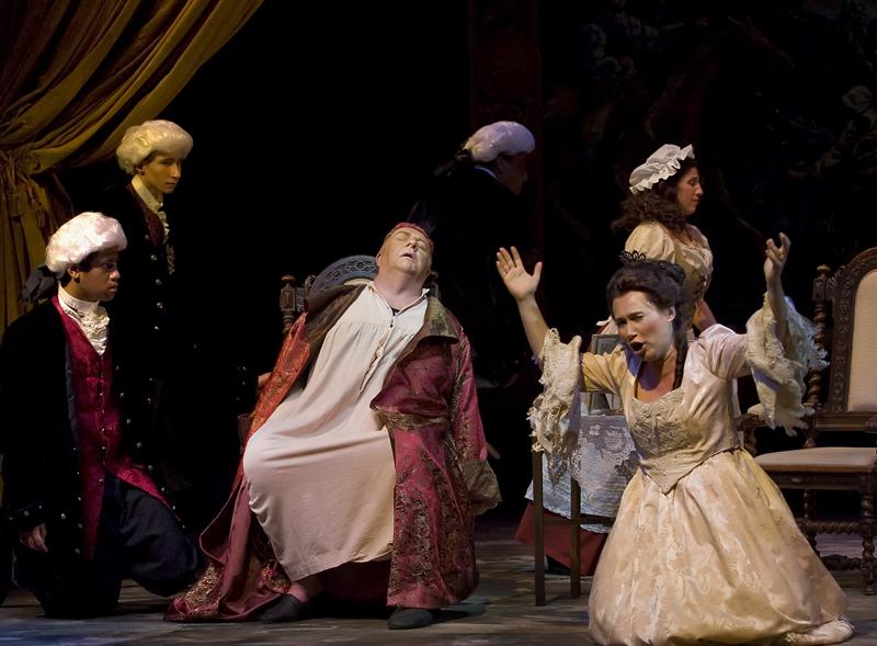 La Forza del Destino, Marquis (2010), with Olga Chernischeva (Leonora)